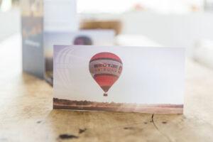 Postkarte Brötje Ballon
