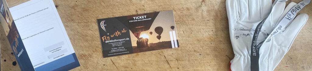 Buchungen Header Ticket