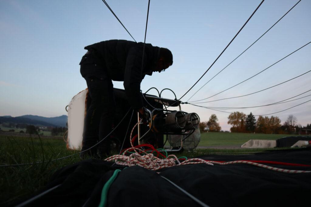 Pilotentraining - Ausbildung bei Aeroballonsport