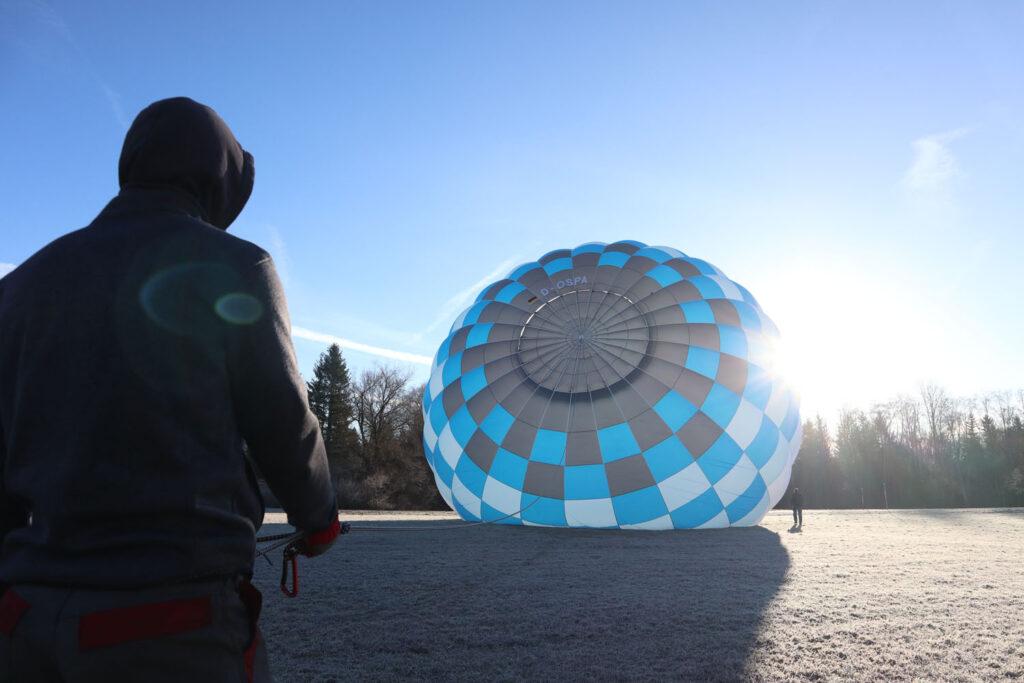 Aufrüsten Ballon