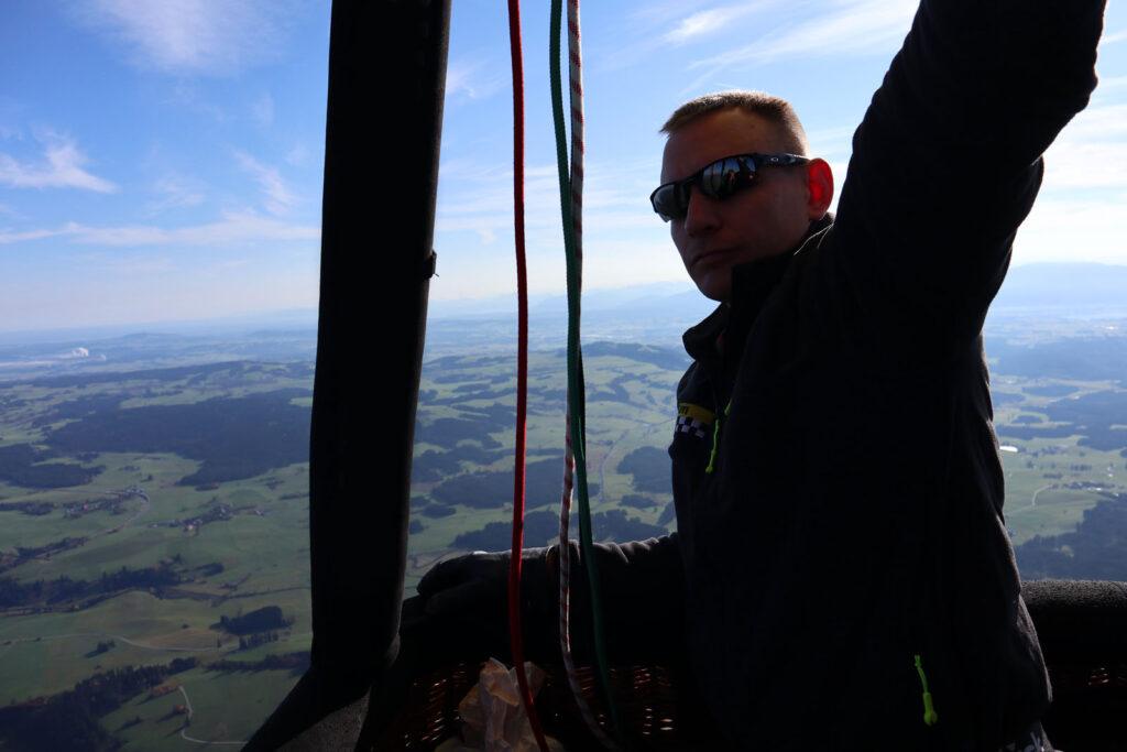 Ausbildungsfahrt - Pilotentraining mit Aeroballonsport