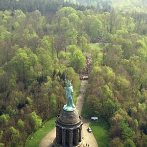 Hermannsdenkmal, Teutoburger Wald, Germany : europe