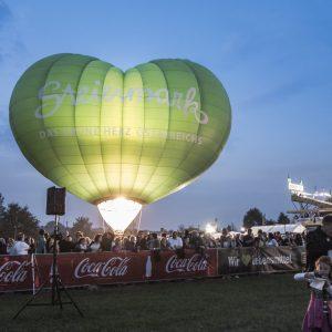 Heißluftballon Sonderform Steiermark