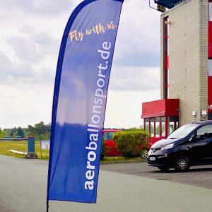 Ballonfahrt Treffpunkt am Flugplatz Oerlinghausen