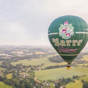 Der Barre Heissluftballon