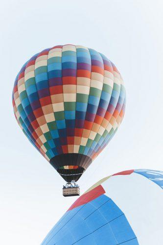 Ballonfahren im Heißluftballon