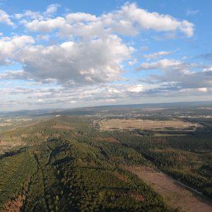 Die Weiten des Teutoburger Waldes und Sennelandschaft